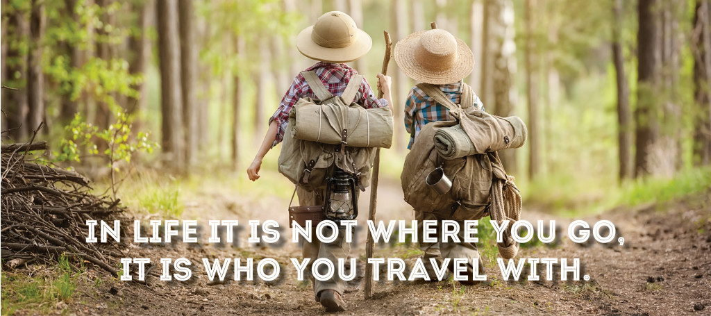 Boys Exploring - Who you travel with