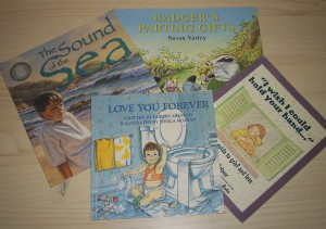Children's books on grief post