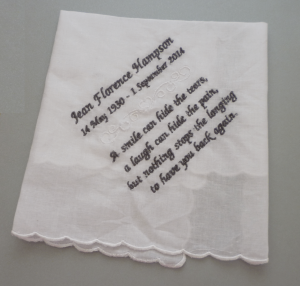 In Memory Handkerchiefs